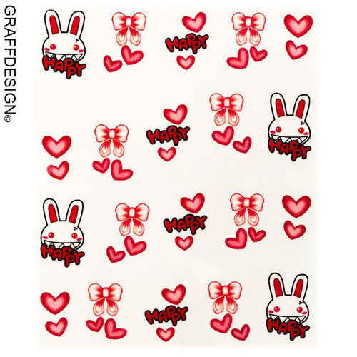 Sticker / Wassersticker / Tattoo / One Stroke / Ostern - 702-SY-1633