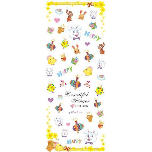 Wraps - Sticker - Tattoos - Ostern - 702-HOT-265