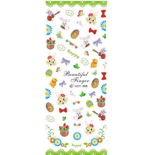 Wraps - Sticker - Tattoos - Ostern - 702-HOT-268