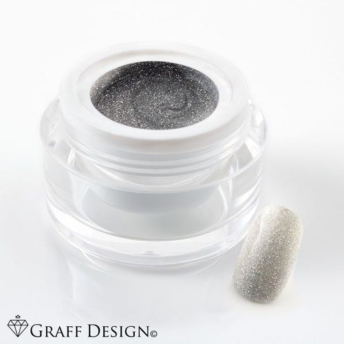 5 ml UV Colorgel / Farbgel / Glittergel - Glimmer Grey - 107-T401 11/8