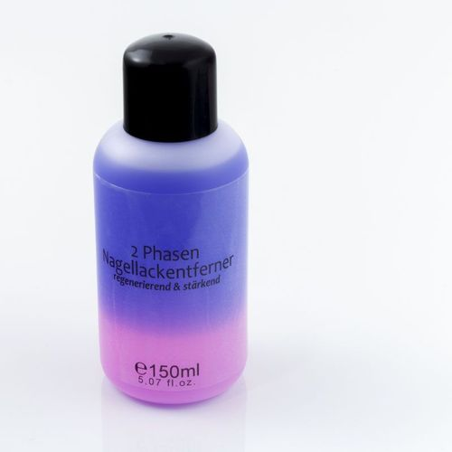 150 ml 2 Phasen Nagellackentferner in Lila-Pink - 503-011