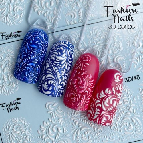 Nail Wraps - Tattoo - Sticker - im 3D Design - 702-3D-45