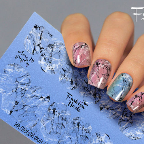 Nail Wraps - Tattoo - Sticker - im Airbrush Design - 702-A-Air19