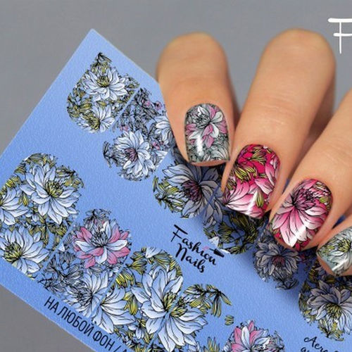 Nail Wraps - Tattoo - Sticker - im Airbrush Design - 702-A-Air28