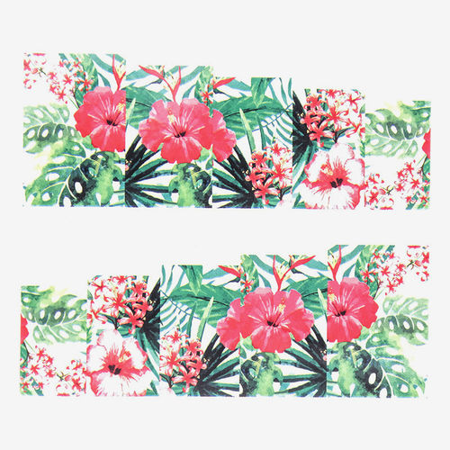 Tattoo - Sticker - Wraps - Blumen - 702-A157