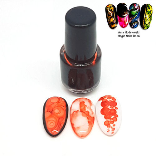 4,5 ml Ink Color - Nailart Farbe - Pfirsich - 111-i07