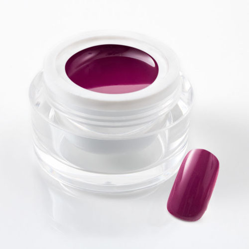 5 ml UV Colorgel / Farbgel / Purgel - Pur Bordeaux-Violett - 107-055 1/7